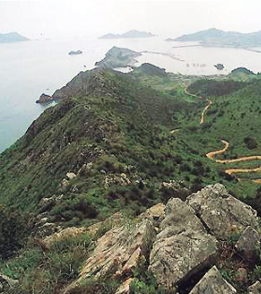 Depiction of Dadohaehaesang_National_Park